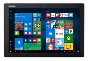 Tablet Lenovo z systemem Windows Mobile